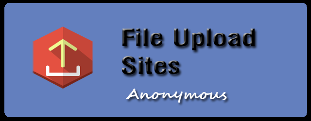 anonymous file upload