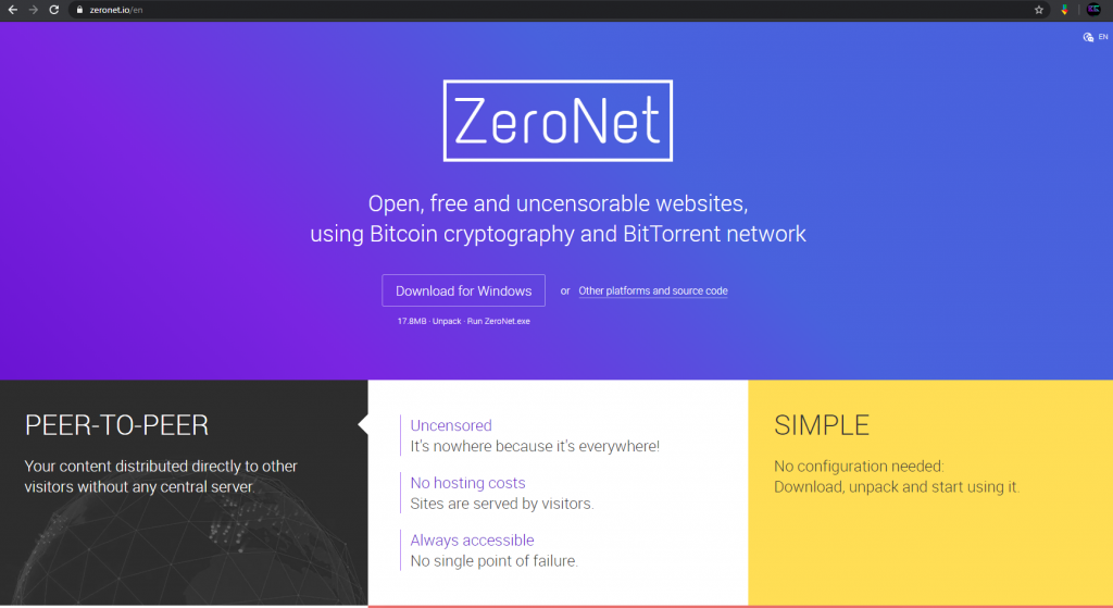 zeronet download