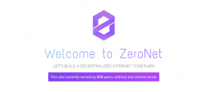 welcome to zeronet